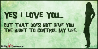 Yes I love you…