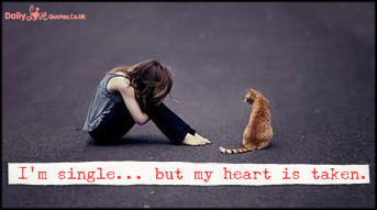 I'm single… but my heart is taken