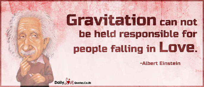Gravitation cannot be held responsible for people