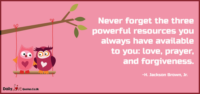 Never forget the three powerful resources you always have available