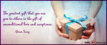 The greatest gift that you can give to others is the gift