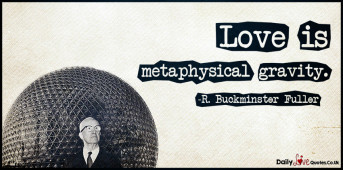 Love is metaphysical gravity