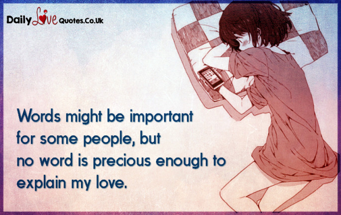 Words might be important for some people, but no word is precious enough